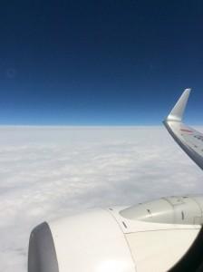 飛行機で下関へ