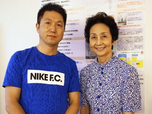セラサイズ応援団名誉会長・細川佳代子様